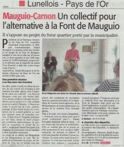 Midi Libre du 22 avril 2016